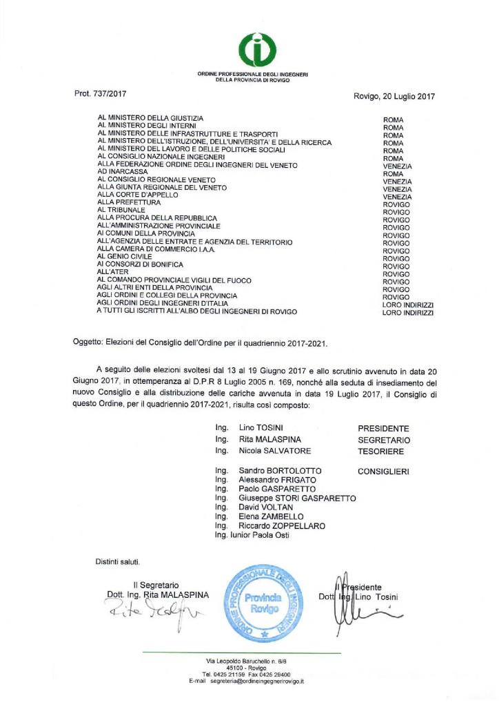 Consiglio 2017-2021